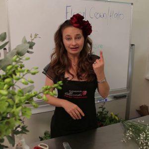 DIY Floral Arranging (Floral Halo)