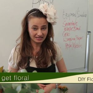 DIY Floral Arranging (Posy)