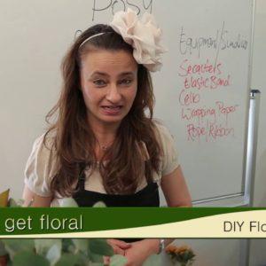DIY Floral Arranging (Posy)